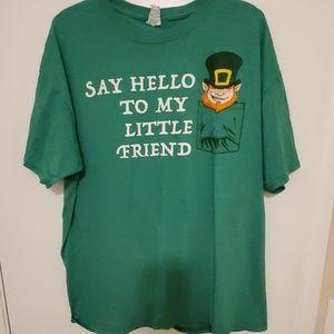 Euc Mens size XL Tee Shirt Green